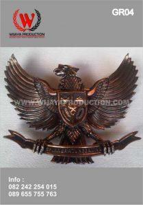 Bikin Patung Garuda Pancasila Tembaga