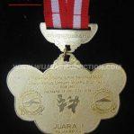 Bikin Medali Olahraga Wushu
