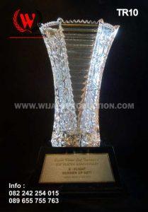 Piala Bergilir Bahan Kaca