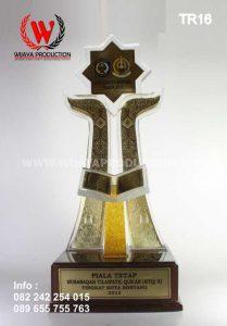 Piala Tetap MTQ   Piala Bergilir MTQ Bahan Resin