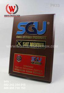 Plakat Kayu SGU