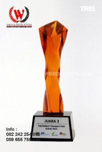 Bikin Trophy Custom Harga Murah Bahan Resin