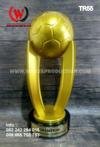 Tempat Pembuatan Piala Trophy Futsal Bahan Fiber