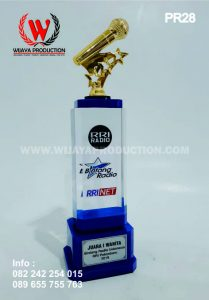 Plakat Atau Piala Bintang Radio RRI