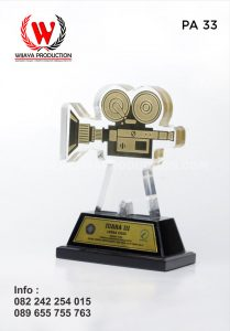 Plakat Akrilik Juara Lomba Video