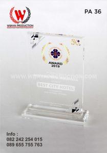 Plakat Akrilik Perhimpunan Hotel dan Restoran Indonesia Award 2019